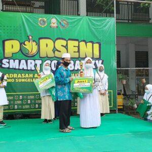 MTs Negeri 1  Lamongan Juara di MA Matholiul Anwar Karanggeneng Kab. Lamongan
