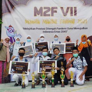 MTsN 1 Lamongan berprestasi di event Manela Maulid Festival (M2F)