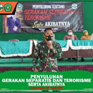 Penyuluhan Gerakan Separatis dan Terorisme serta Akibatnya